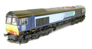 Aristo Class Class 66 Direct Rail Service. Very detailed, Good condition. No box.